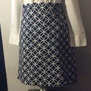 Rafaella Blue & White career/casual skirt # 8